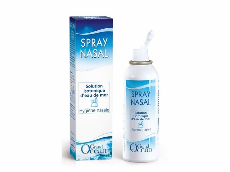 Aerosol nasal salino